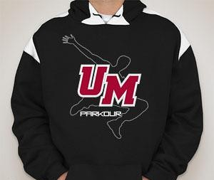 UMass Parkour Sweatshirt