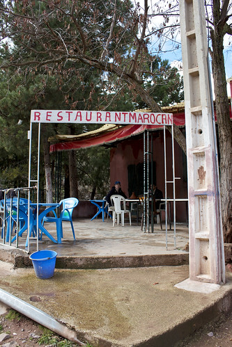yes, it's a moroccan restaurant