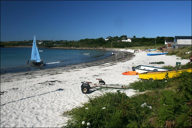 Porth Mellon beach, St Marys, Isles of Scilly