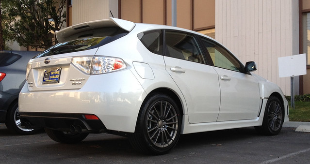 2012 subaru wrx white 5 door hatchback flickr photo sharing. Black Bedroom Furniture Sets. Home Design Ideas