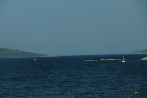 Burhaniye day 2 (Ayvalik): sea on drive back (4)