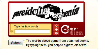 Face of Jesus Appears Among reCAPTCHA Challenge Words