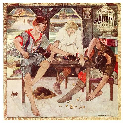 011-La bolsa siempre llena-Polish fairy tales 1920-Cecile Walton