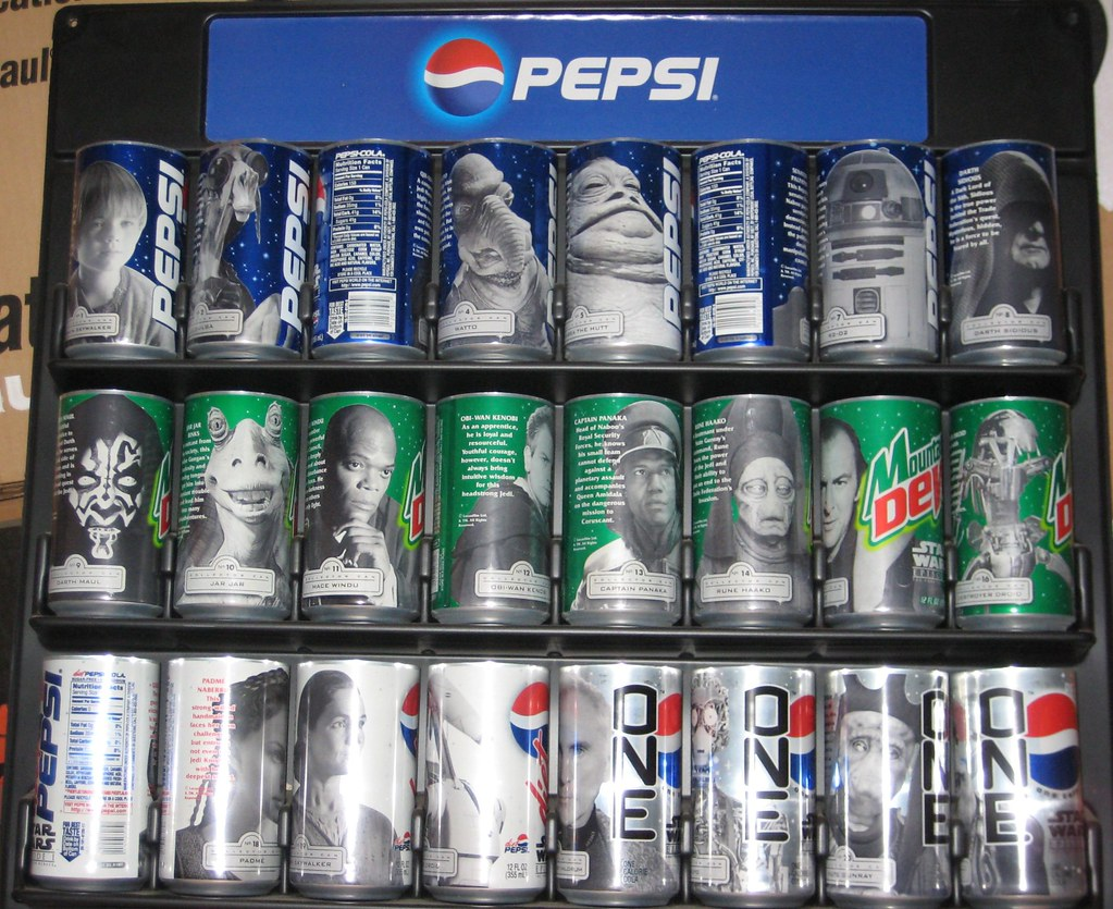 Ep 1 pepsi cans