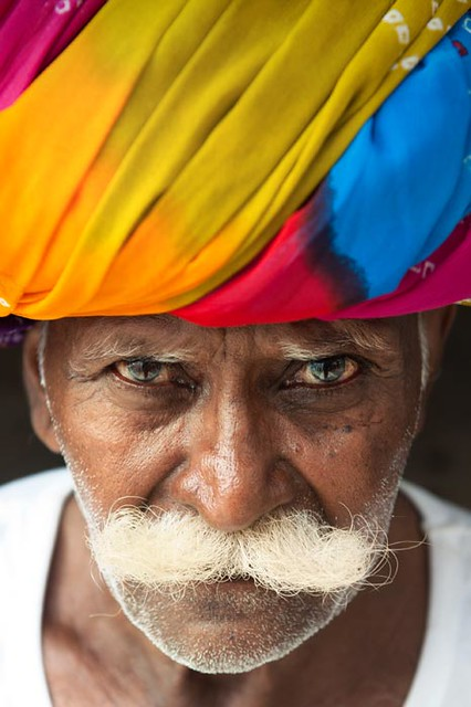 Incredible India | Colorful portrait  |  Beautifull man