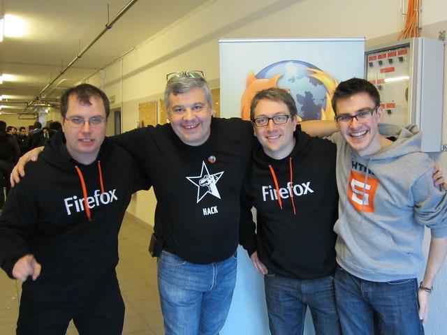 Developer engagement team @ Fosdem 2012