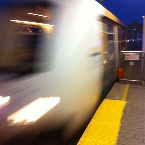 Photo #96/366 in my project - taken at Main Street SkyTrain Station