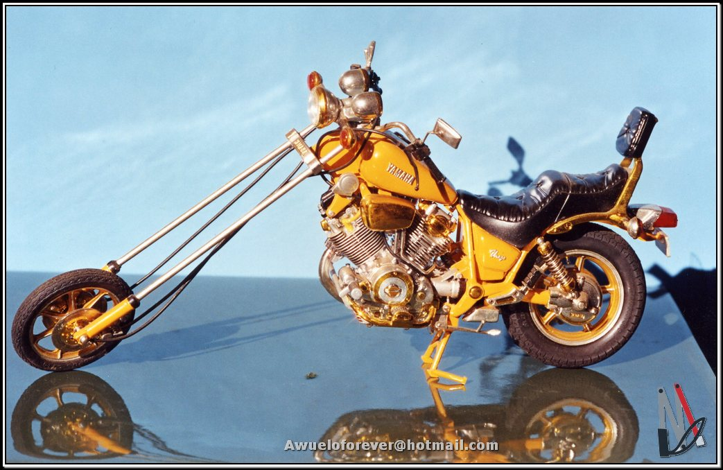 Yamaha Virago chopper - 2 premio