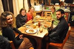 Sopar amb els altres viajeros