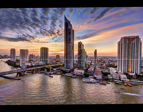 Bangkok's Striking New River Skyline #1