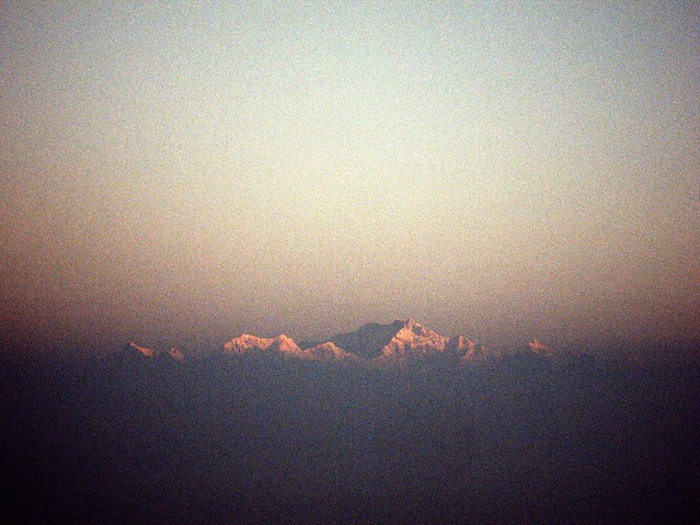 The Himalayas at Sunrise