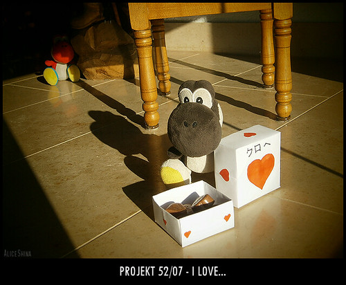 Projekt 52/07 - I love...