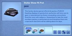 Stellar Show FX Pod