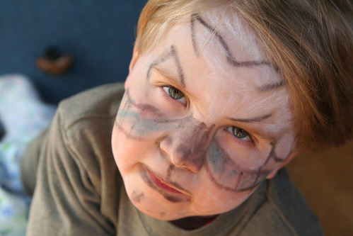 Face Paint Crayons: Dragon Boy