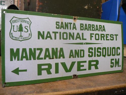 Santa Barbara NF: Manzana and Sisquoc River