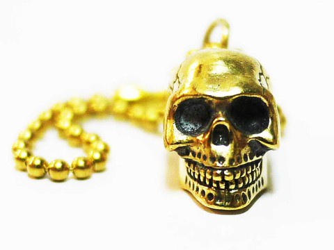SECRET BASE Porno Skull key chain