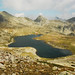 Tevno ezero shelter and lake , 2500m , Pirin mountain , Bulgaria