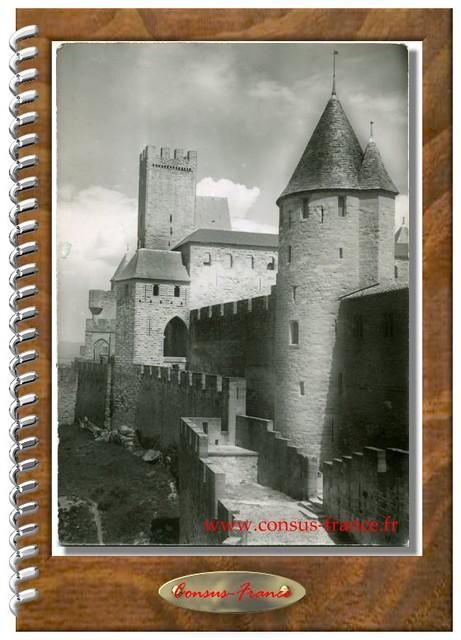 CARCASSONNE - Les Remparts - Château Comtal