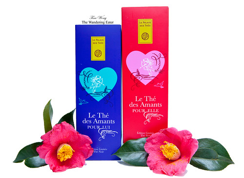 Limited Edition Teas: Le Thé de Amants: Pour Lui (for Him) et Pour Elle (for her)