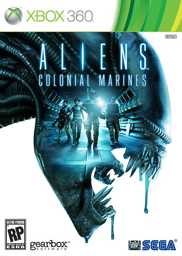 Aliens: Colonial Marines Box Art (Xbox)