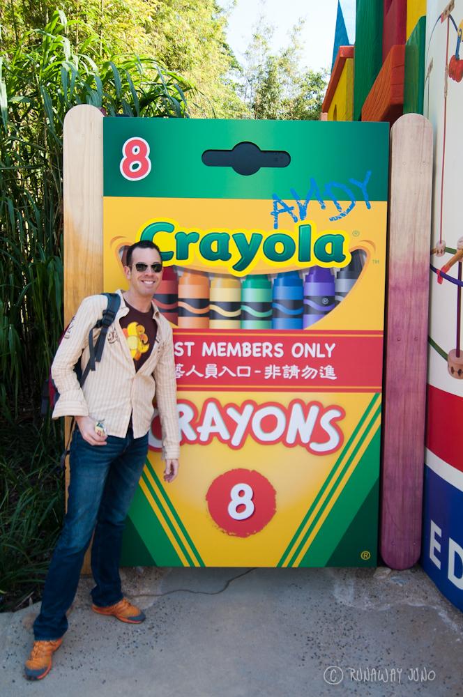 Michael and Crayola