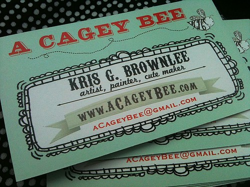New business cards by acageybee