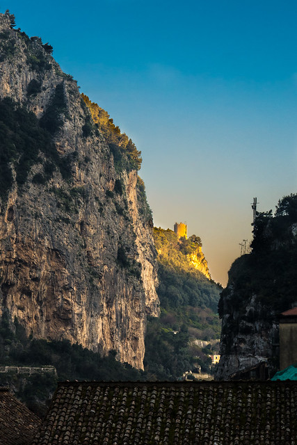 The Ziro's tower, Amalfi, Italy