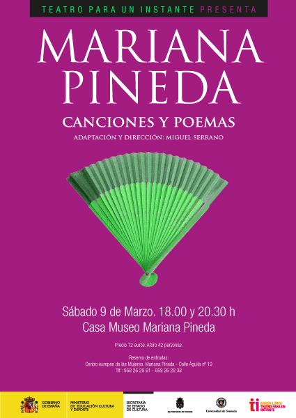 Mariana Pineda. Canciones y poemas