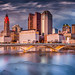 Columbus Downtown Sunset – Available on Getty Images