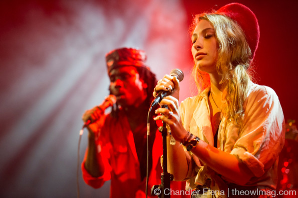 Blood Orange @ El Rey Theatre, LA 4/14/14