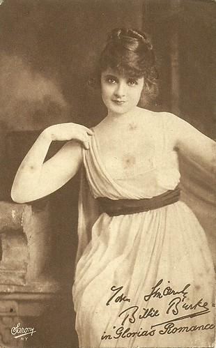 Billie Burke in the serial Gloria's Romance