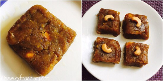 Banana Halwa Recipe for Toddlers and Kids - step 5