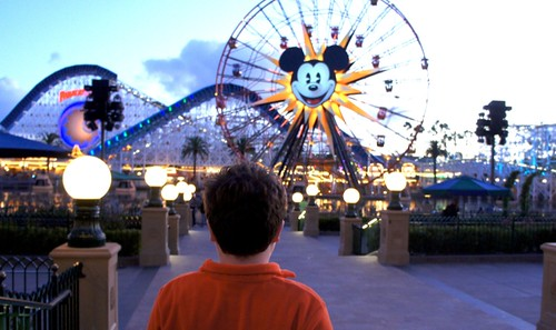 Leo hadn't been to Disneyland since 2004 because the interim years were ...