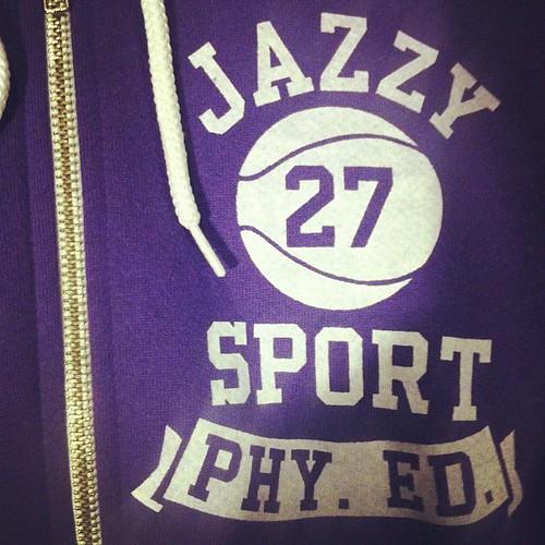 PHY ED ZIP HOODIE:Purple