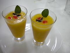 Sorbete de mandarina 80