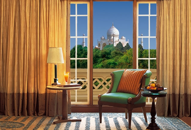View of the Taj Mahal from every guest room