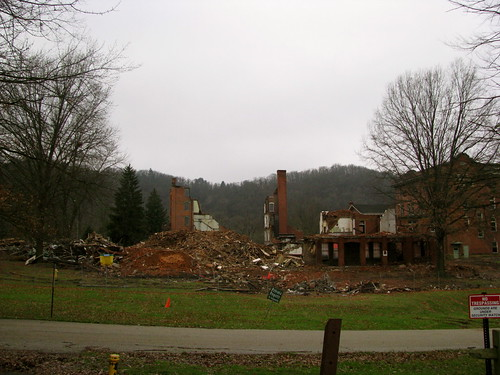 The Demolition of Mount de Chantal Visitation Academy - Wheeling, WV