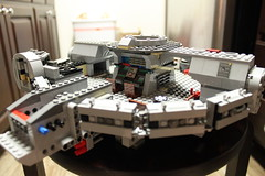 Millennium Falcon 50% Complete
