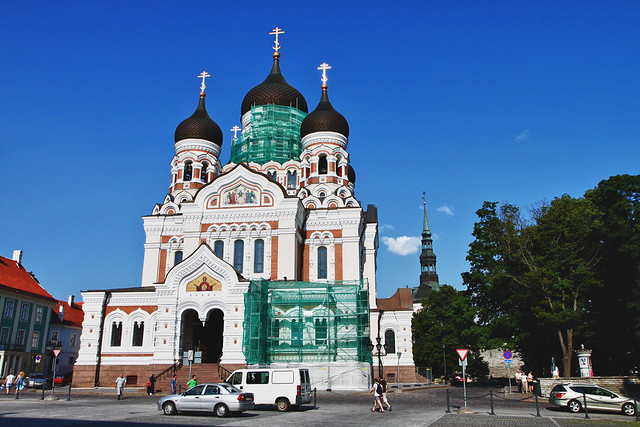 Tallinn. St. Alexander Nevsky Cathedral