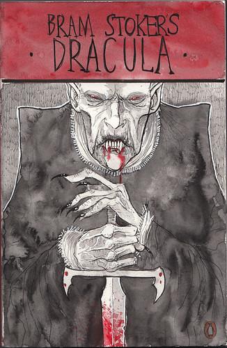 Dracula Book Cover Art : Ben templesmith dracula novel cover