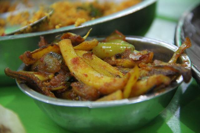 Sri Lankan Curry Squid