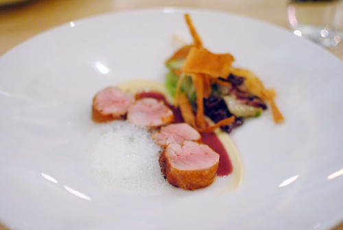 quail, parsnip, chicories, beurre rouge, fig leaf, vanilla