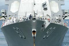 USS Chafee deploys.