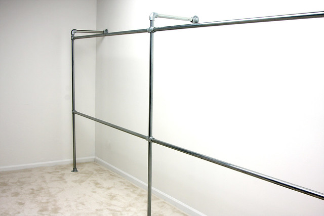 Heavy Duty Wall Mounted Clothing Racks
