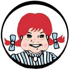 Wendy's Fat Logo Version