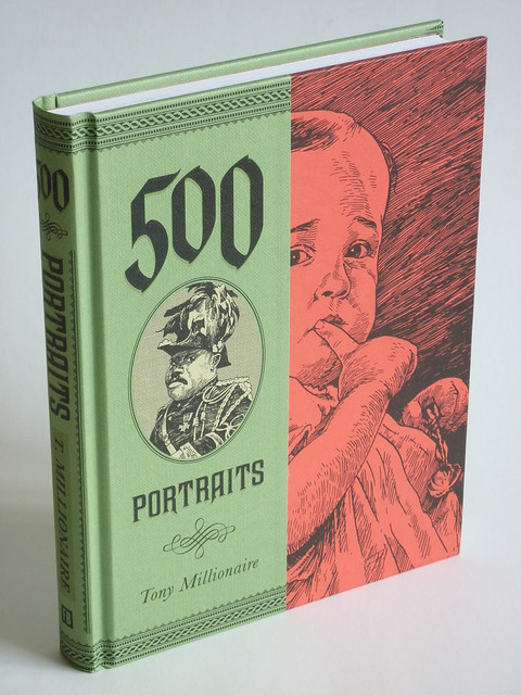 500 Portraits by Tony Millionaire - front cover