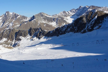 Kaunertaler Gletscher – aktuální report