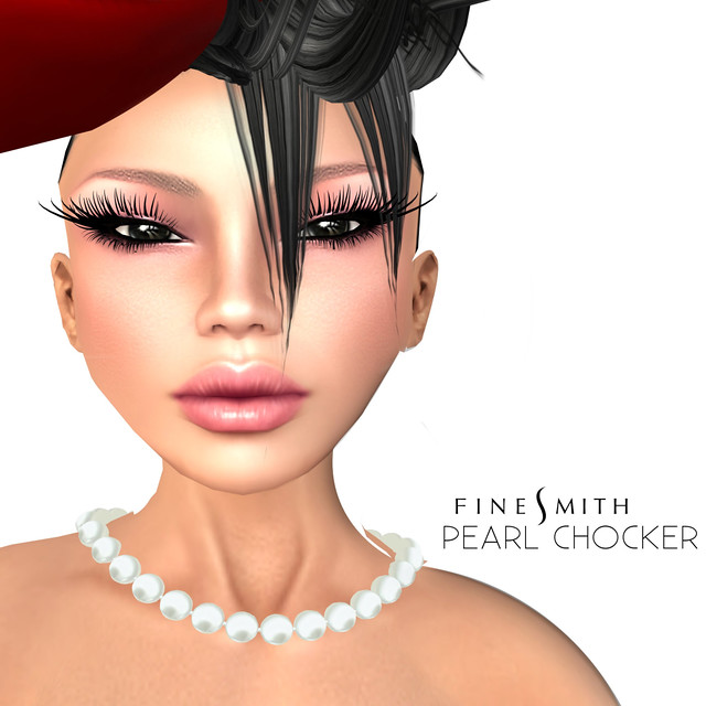 FINESMITH Pearl chocker Cream