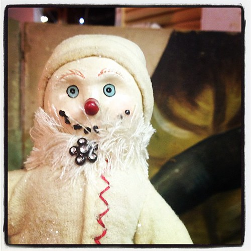 This snowman is planning your demise.