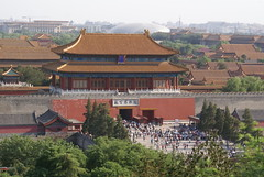 Really crowded - Forbidden City's North Gate
